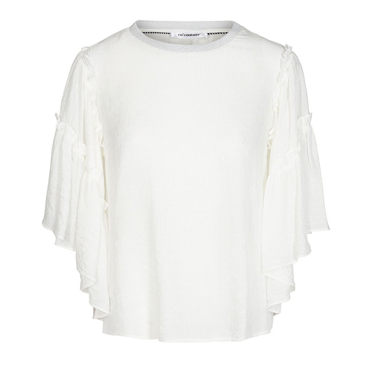 CO'COUTURE BLUSE - CLARA OFF WHITE