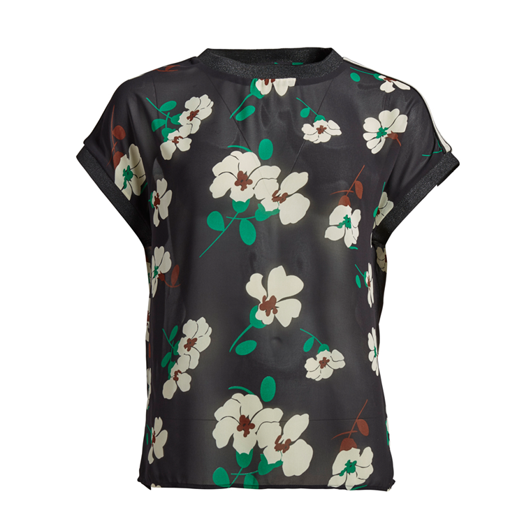 CO'COUTURE T-SHIRT - WINDY BLACK