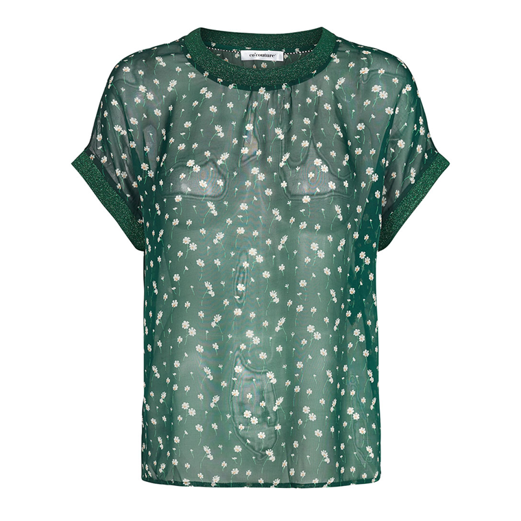 CO'COUTURE TOP - NORMA DAISY JADE