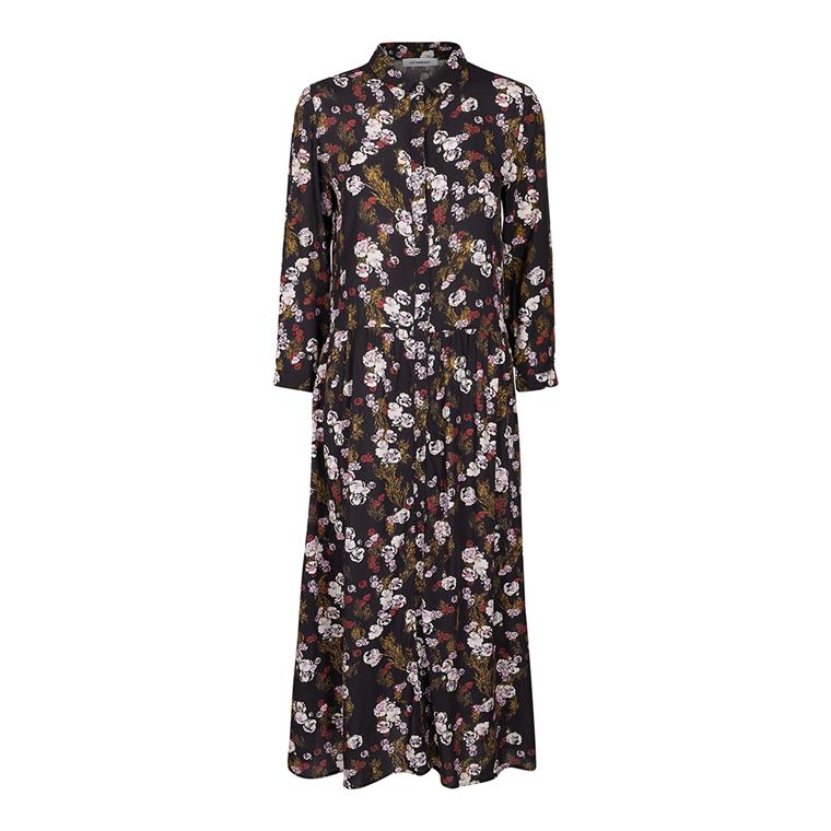 CO'COUTURE KJOLE - AMARIS SHIRT DRESS BLACK