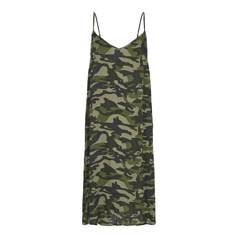 CO'COUTURE KJOLE - LOPEZ CAMOUFLAGE ARMY