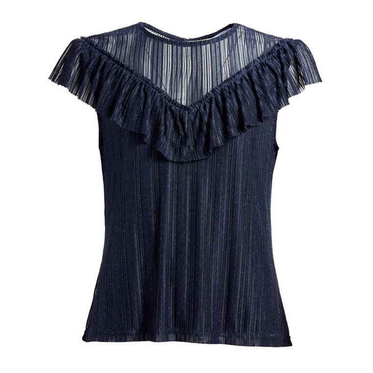CO'COUTURE TOP - PARIS NAVY