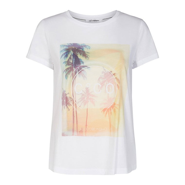 CO'COUTURE T-SHIRT - CLUB WHITE