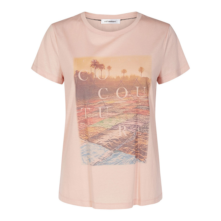 CO'COUTURE T-SHIRT - GOA NUDE ROSE
