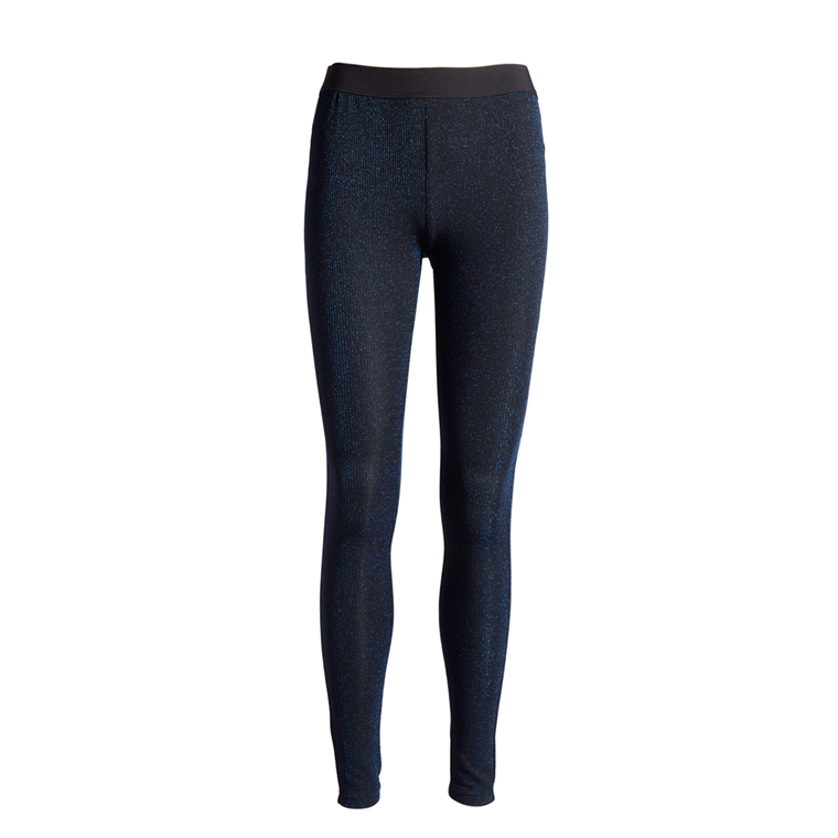 CO'COUTURE LEGGINGS - CANDIS GLITTER NEW BLUE