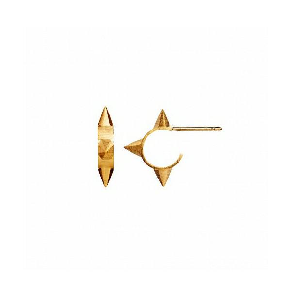 STINE A ØRERING - 1080 PETIT DIAMOND CREOL GULD