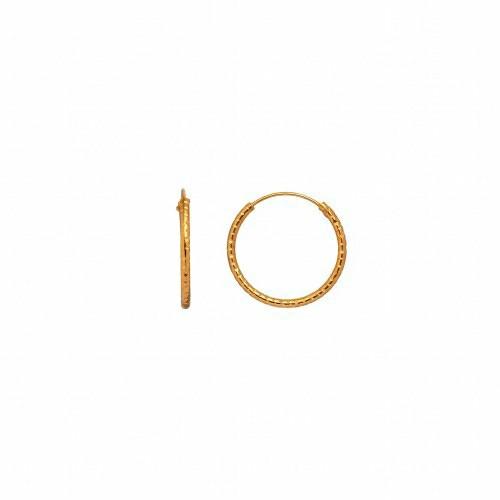 STINE A ØRERING - 1100 TINSEL CREOL GULD
