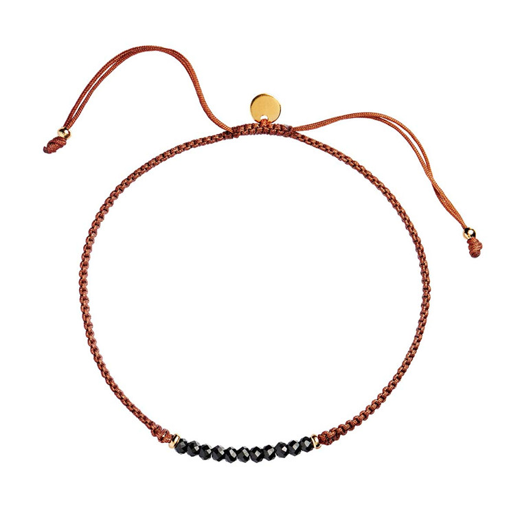 STINE A ARMBÅND - 3134 CANDY BLACK/RUST
