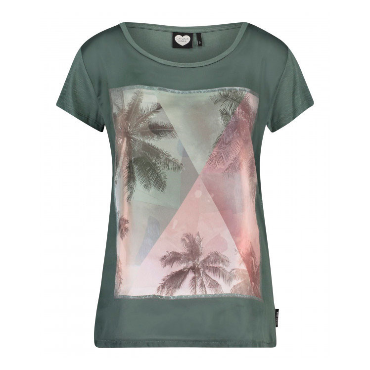 CATWALK JUNKIE T-SHIRT - PALM SKY AMAZON
