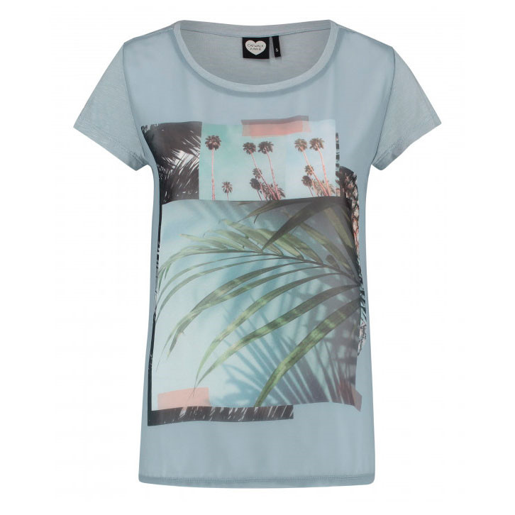 CATWALK JUNKIE T-SHIRT - BABY BLUE