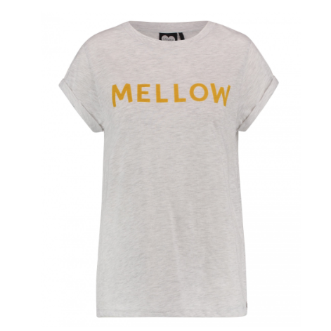 CATWALK JUNKIE T-SHIRT - OH SO MELLOW TEE CHALK MELANGE