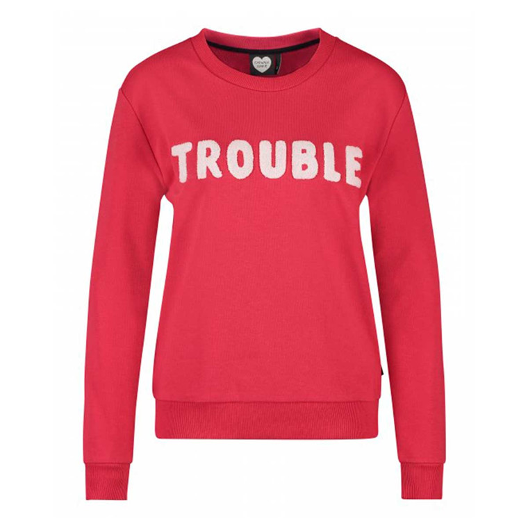 CATWALK JUNKIE SWEATSHIRT - DOUBLE TROUBLE RED