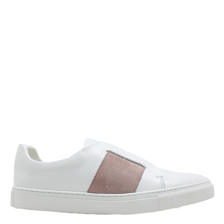 PHILIP HOG SNEAKERS - ELASTIC WHITE/DUSTY ROSE