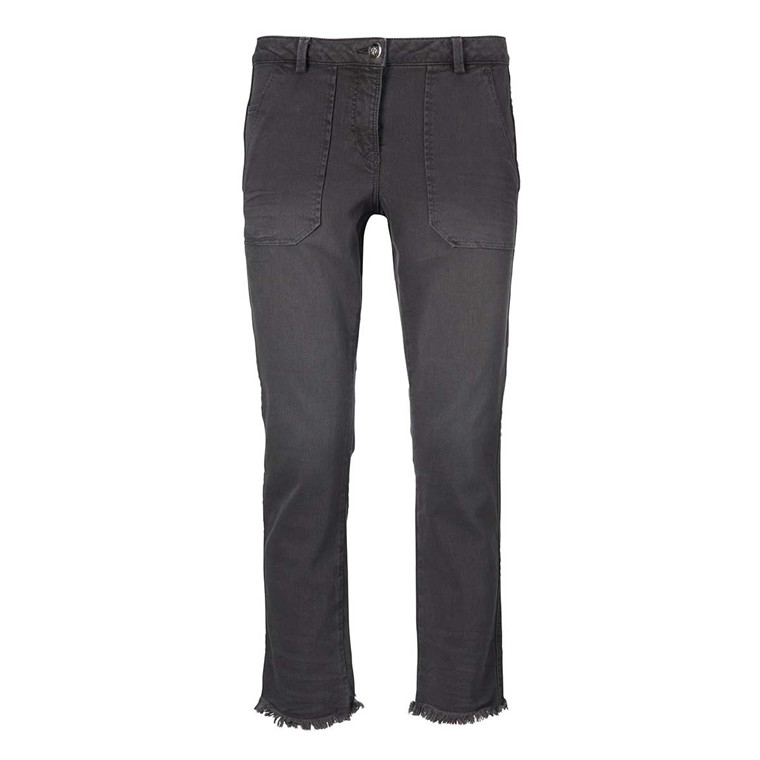 GUSTAV BUKSER - 22023 CROPPED STRAIGHT PANTS 543