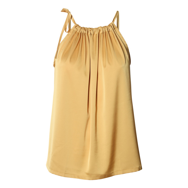 KARMAMIA COPENHAGEN TOP - YELLOW TIE TOP