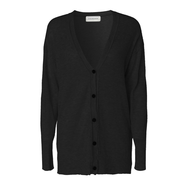 BY MALENE BIRGER CARDIGAN - TEODORAS 050 BLACK