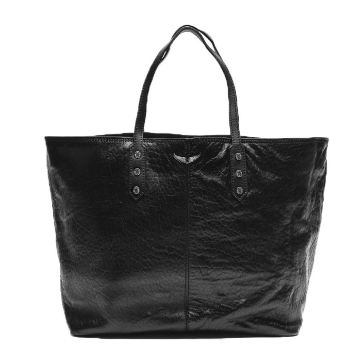 ZADIG & VOLTAIRE TASKE - MICK BUBBLE BLACK