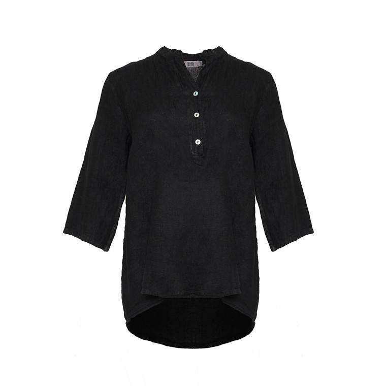 TIFFANY BLUSE - 17661 SHORT BLACK