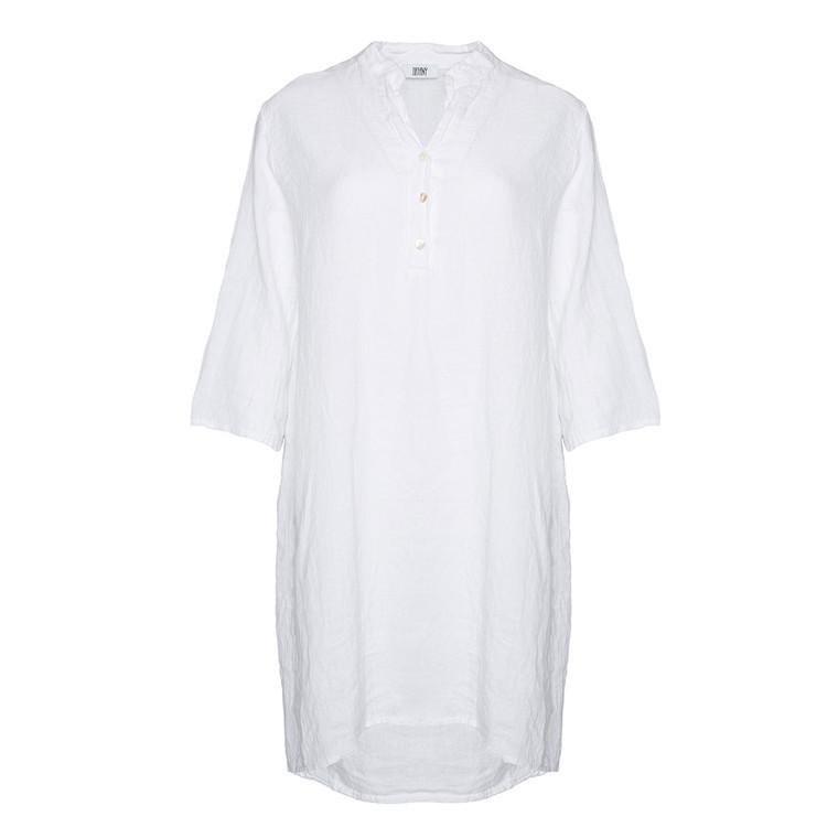 TIFFANY BLUSE - 17690 LONG WHITE