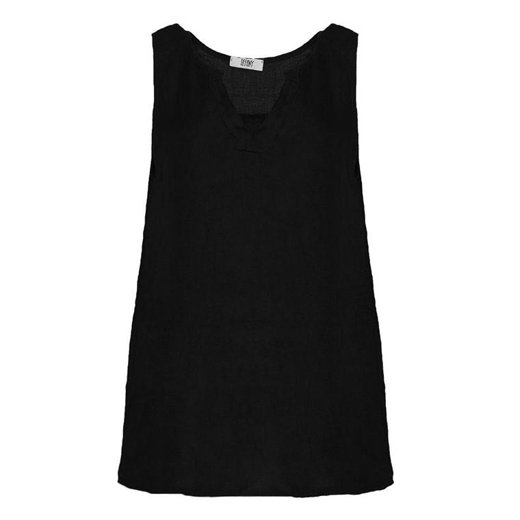 TIFFANY TOP - 9903 BLACK