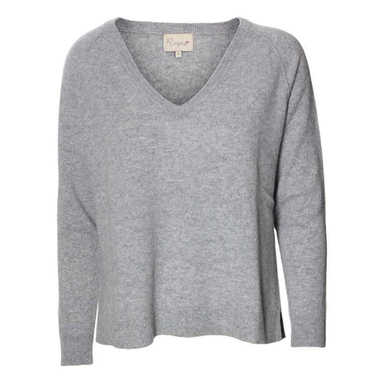 ROSAS STRIK - V-NECK GREY MEL