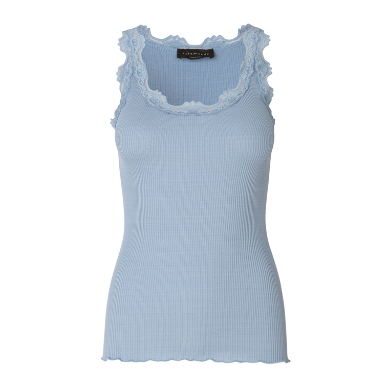 ROSEMUNDE TOP - 5205 DUSTY BLUE