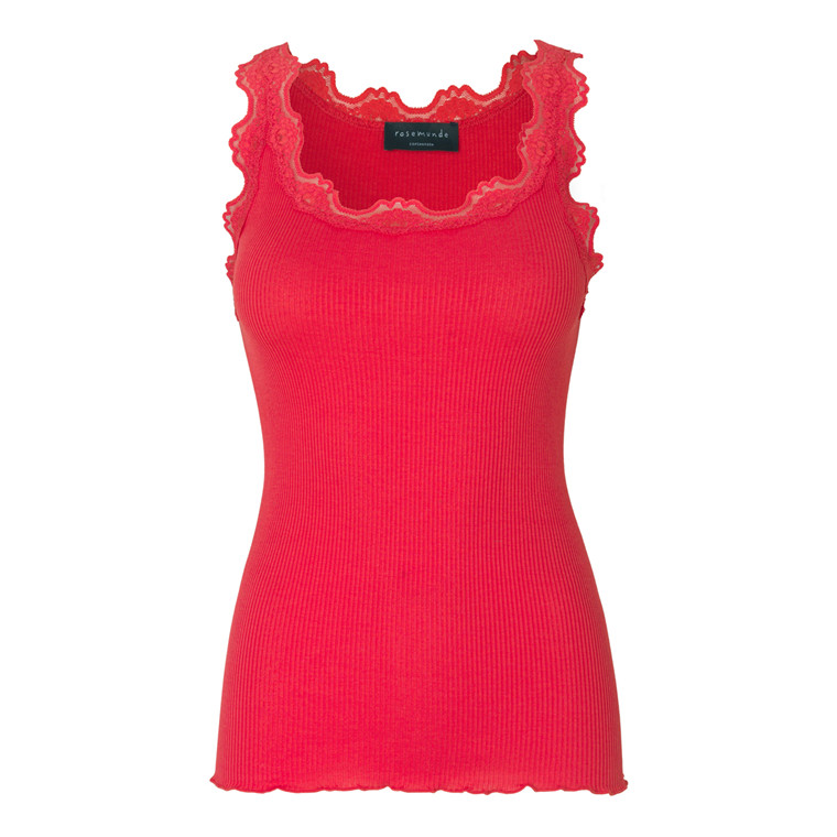 ROSEMUNDE TOP - 5205 STRAWBERRY