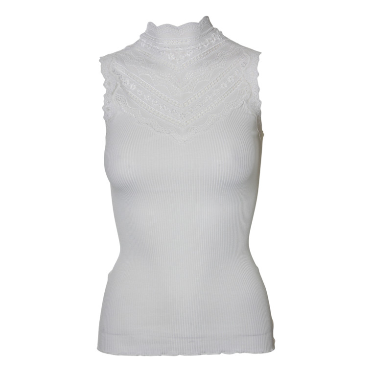 ROSEMUNDE TOP - 4507 W/WIDE LACE NEW WHITE