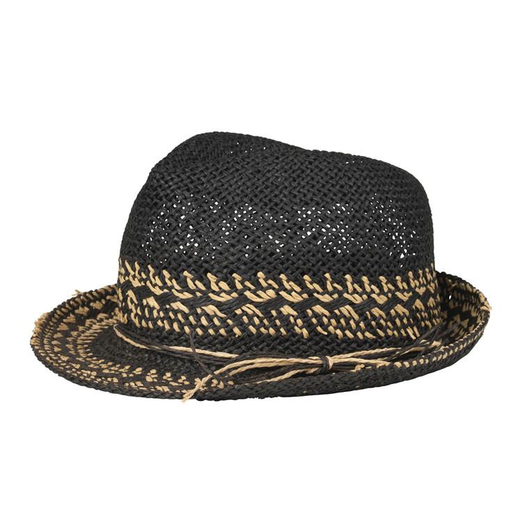 BECKÖNDERGAARD HAT - SAXE 010 BLACK