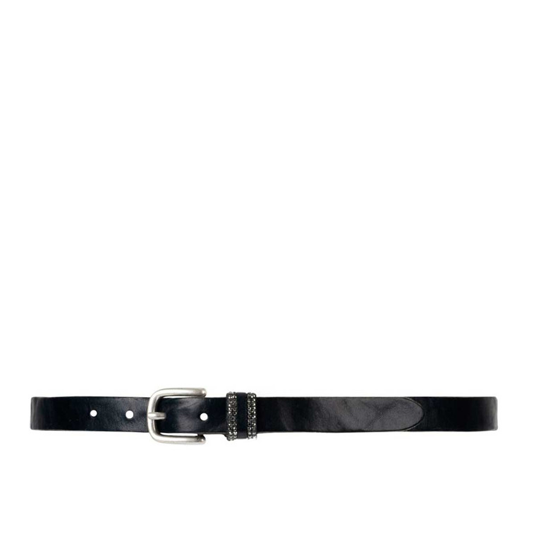 DEPECHE BÆLTE - 10312 NARROW SIMILI BLACK