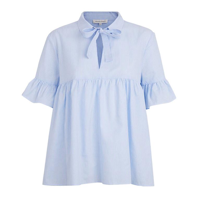 SECOND FEMALE BLUSE - NEVERLAND SHIRT BLUE
