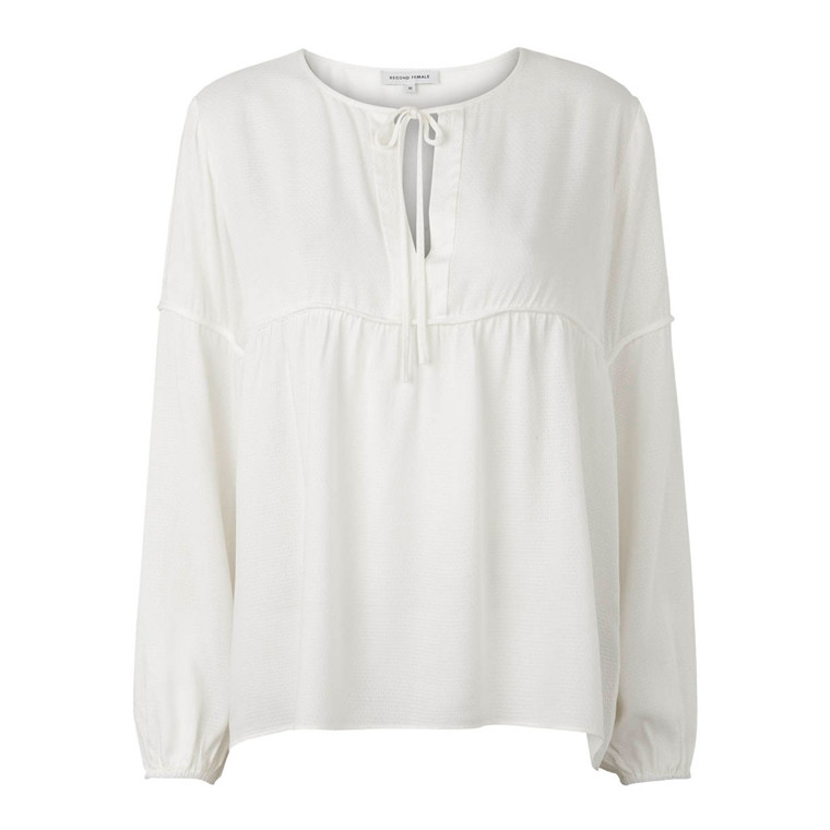SECOND FEMALE BLUSE - VALERIE OFF WHITE