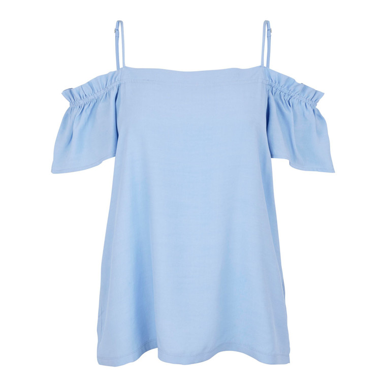 SECOND FEMALE TOP - REBELIA ROBBIA BLUE