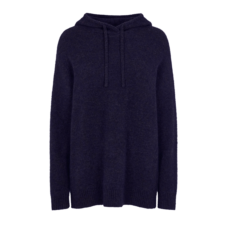 SECOND FEMALE STRIK - MAVILLE HOODIE NAVY BLAZER