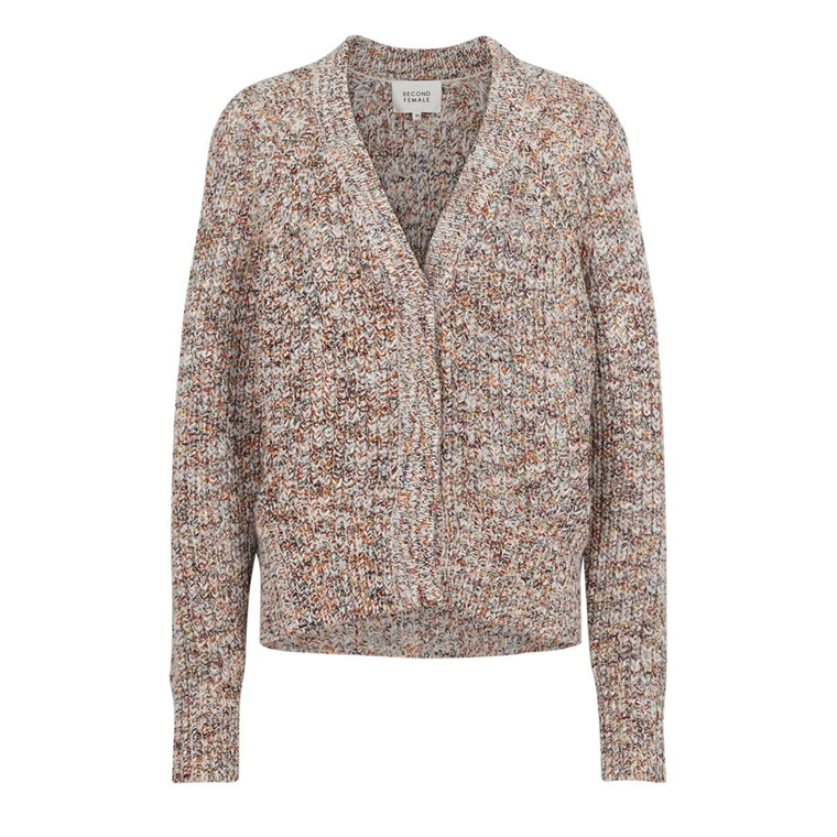 SECOND FEMALE CARDIGAN - AGNETE OFF WHITE