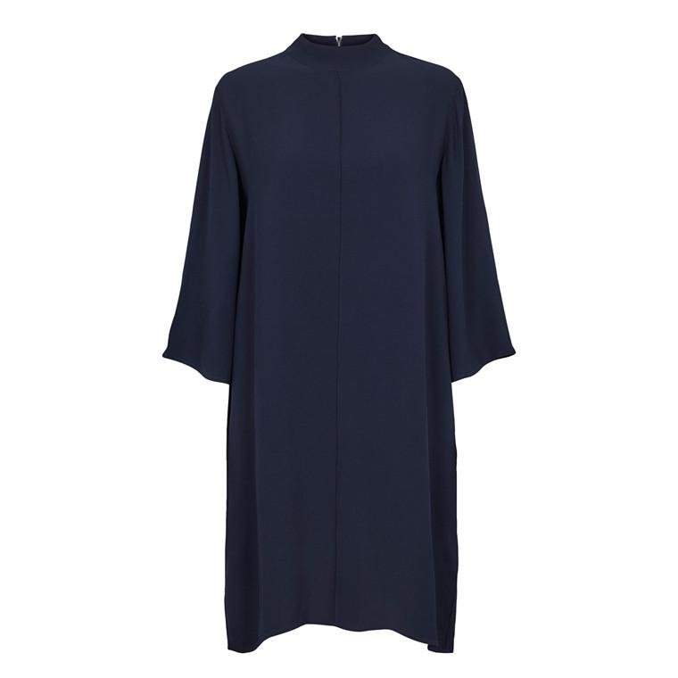 SECOND FEMALE KJOLE - SHAKE DRESS NAVY