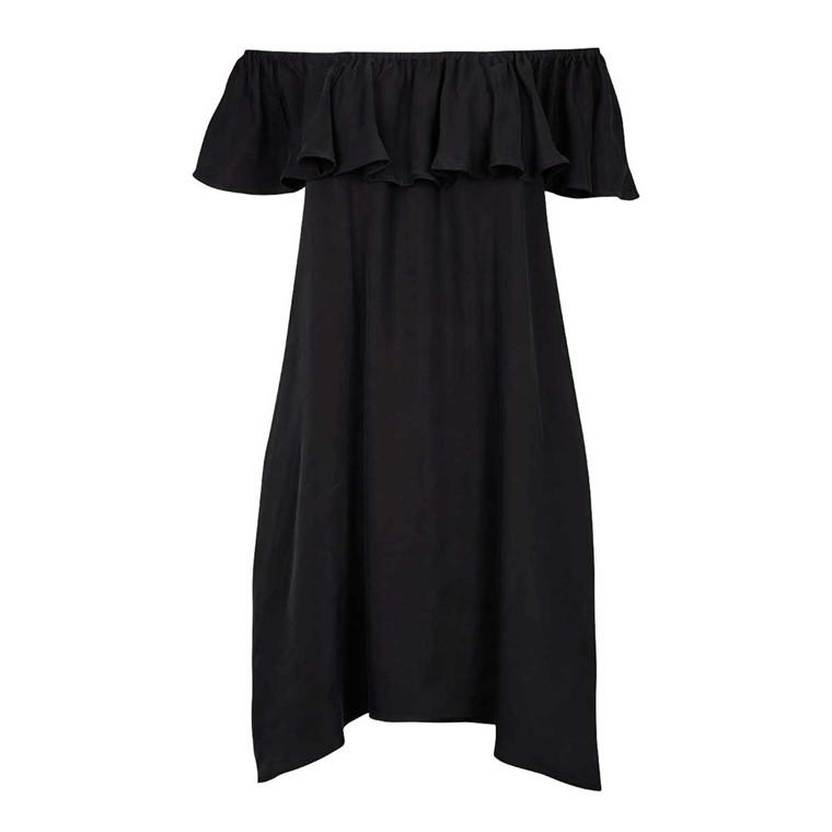 SECOND FEMALE KJOLE - VECTOR DRESS BLACK