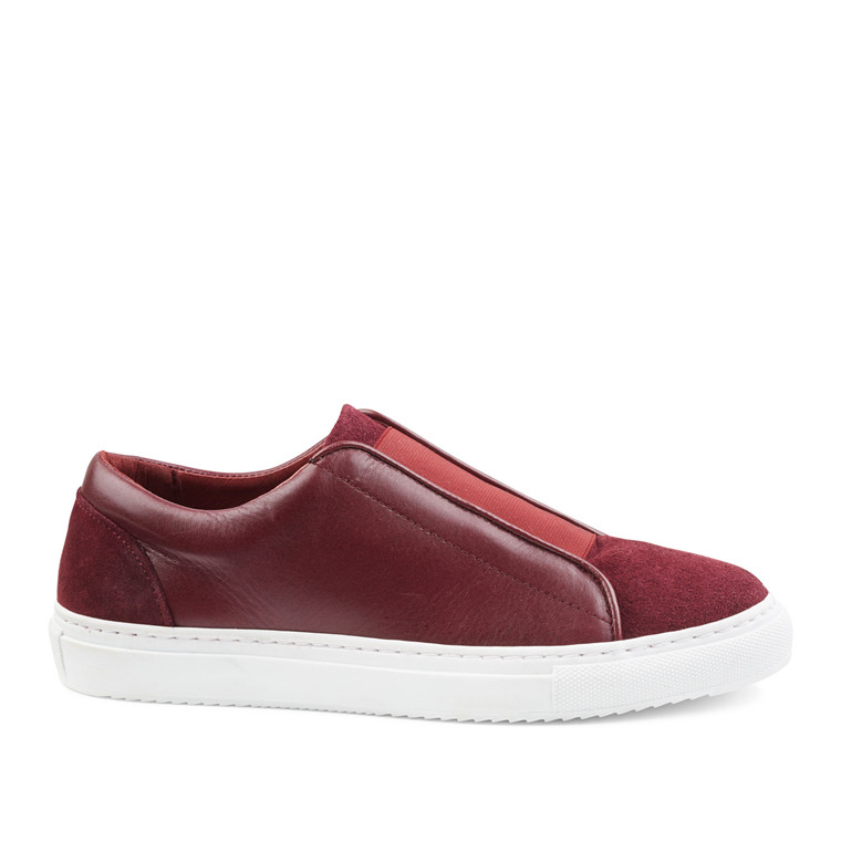 SECOND FEMALE SNEAKERS - ERIKA MIX POMEGRANATE