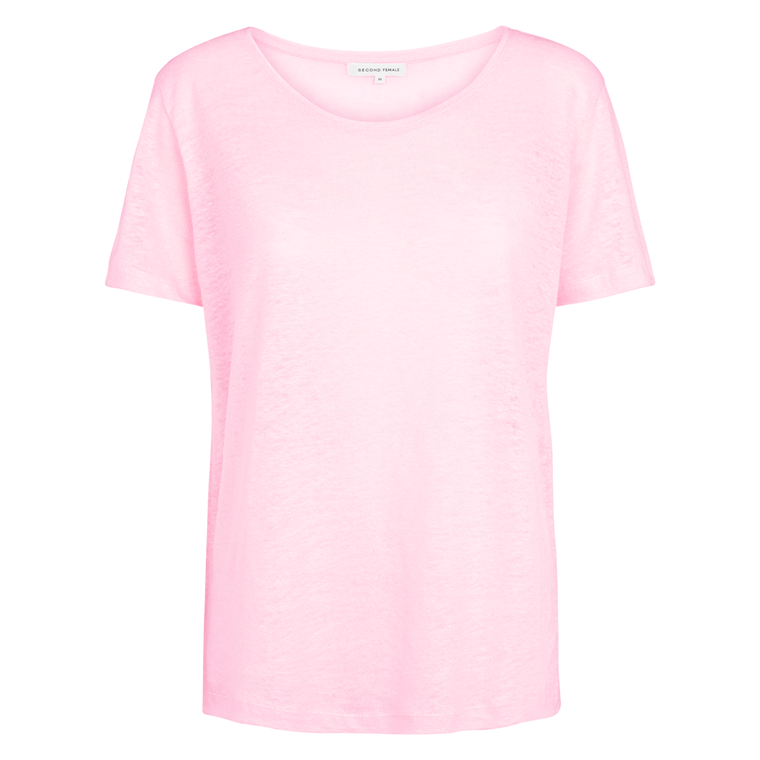 SECOND FEMALE T-SHIRT - PEONY CRADLE PINK