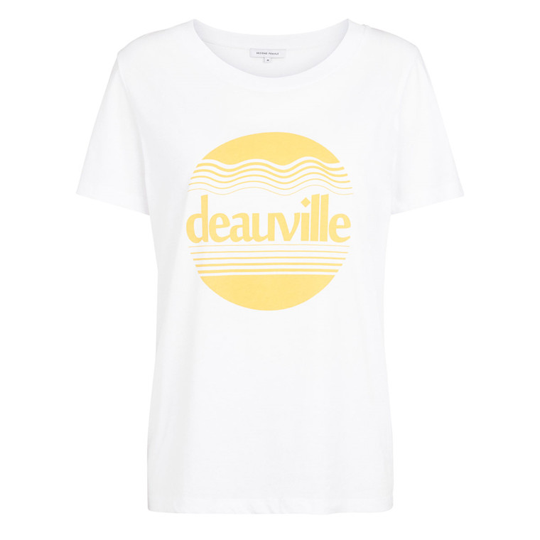 SECOND FEMALE T-SHIRT - DEAUVILLE WHITE