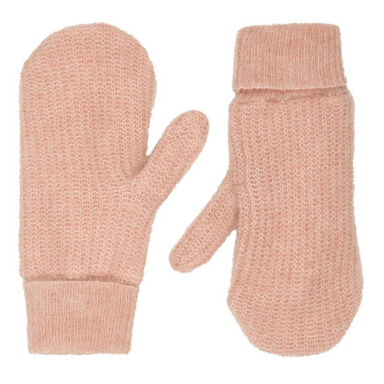 SECOND FEMALE HANSKER - GITTA KNIT MITTENS CAMEO ROSE
