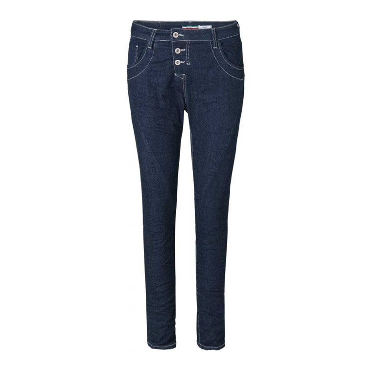 PLEASE JEANS - P47QKM6LL1 DARK BLU DENIM