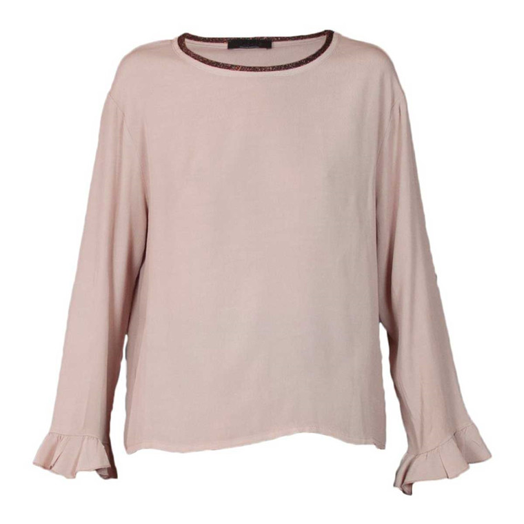 PLEASE BLUSE - T908H1018 ROSA ANTICO