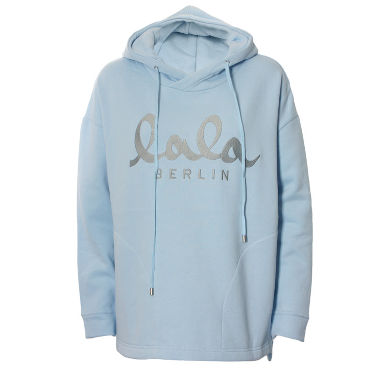 LALA BERLIN SWEATSHIRT - QUINN LIGHT BLUE