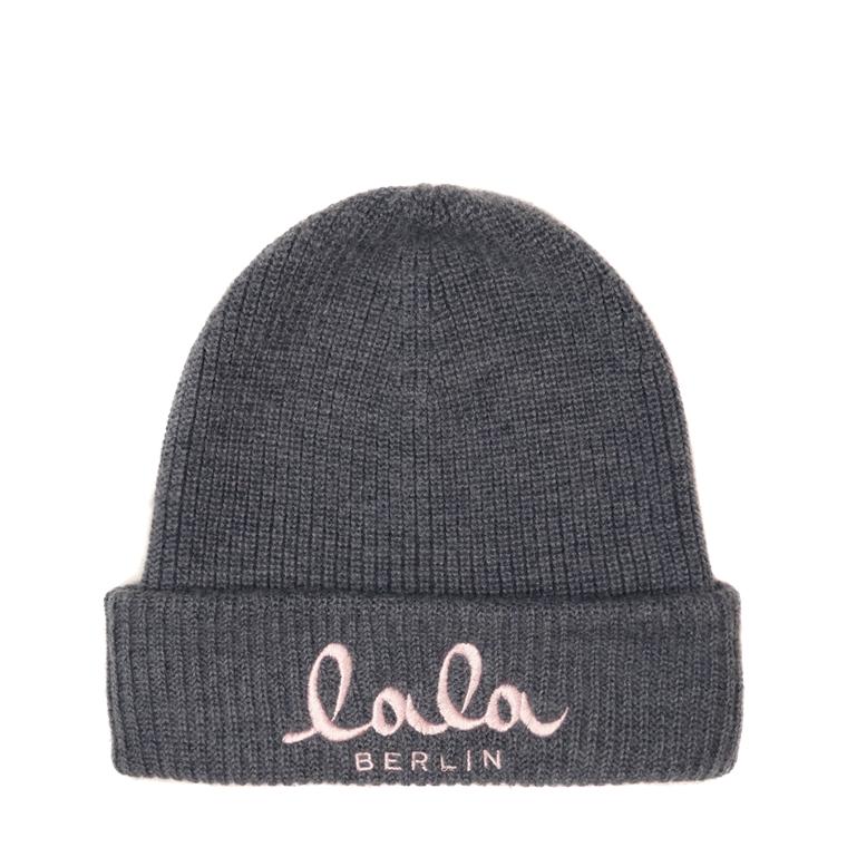 LALA BERLIN HUE - CAP KOBY GREY MELANGE