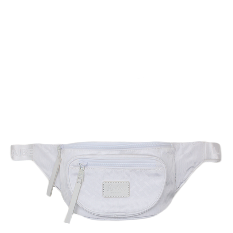 LALA BERLIN TASKE - SMALL BELT BAG CLOE CLASSIC WHITE