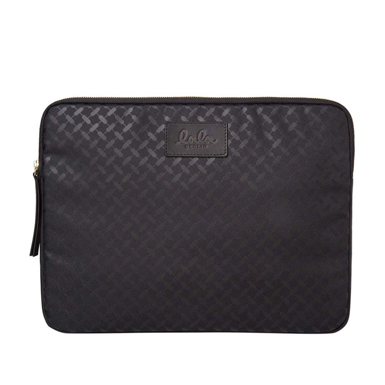 LALA BERLIN LAPTOP CASE - KUFIYA NYLON BLACK