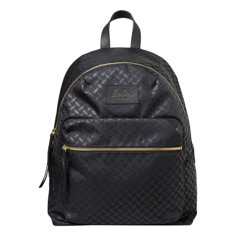 LALA BERLIN TASKE - BACKPACK KUFIYA NYLON BLACK