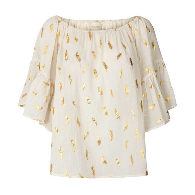 LOLLYS LAUNDRY BLUSE - PARIS 02 CREME