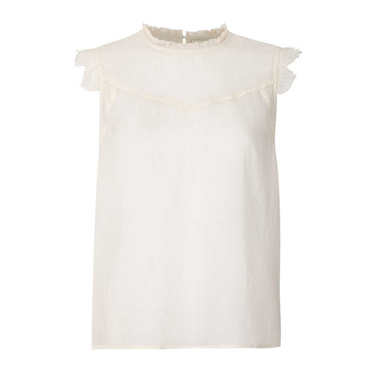 LOLLYS LAUNDRY TOP - DEA CREME